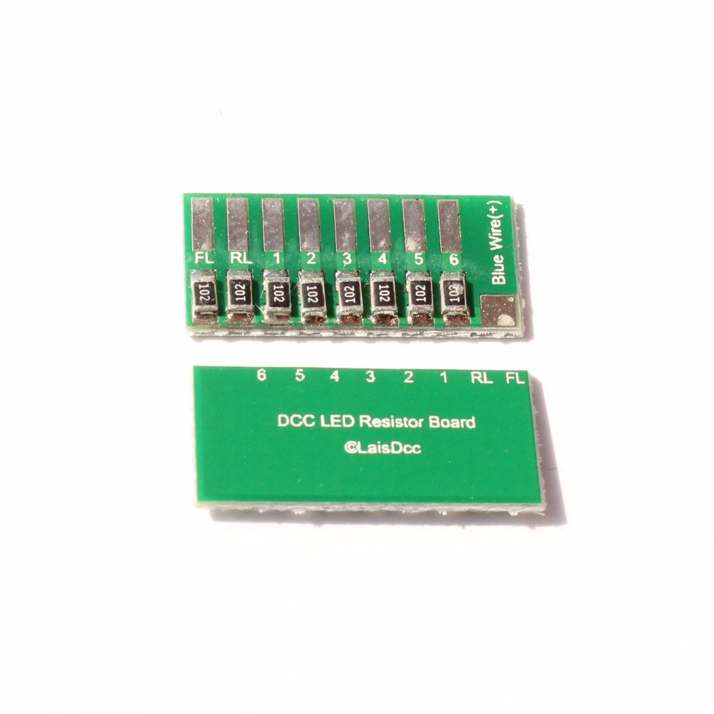 A PACK OF 2 PCS 860027 DCC LED Resistor Board/LaisDcc Brand
