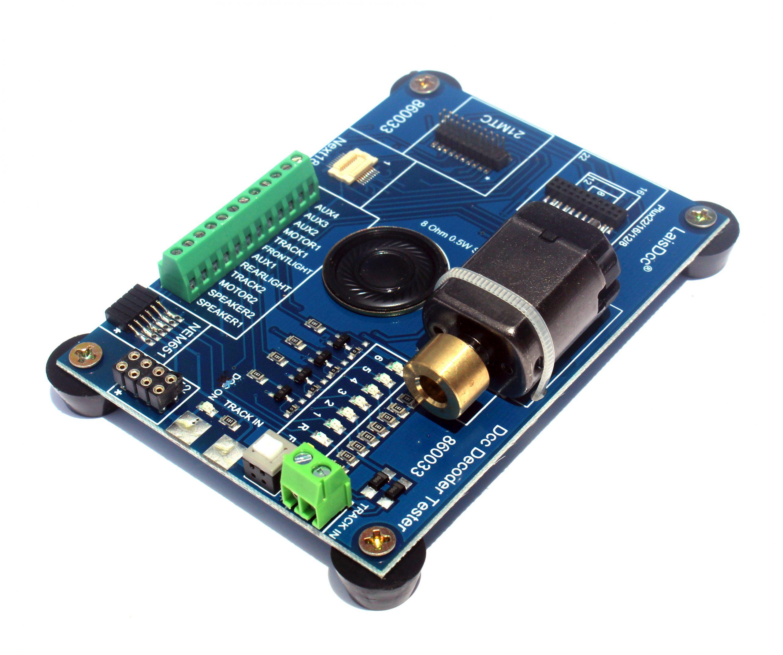 LaisDcc DCC Decoder Tester