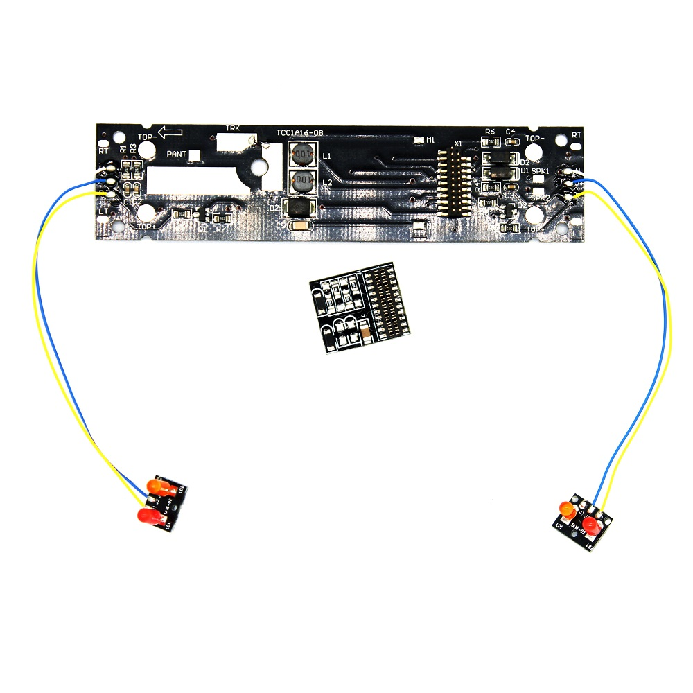 21MTC 21PIN Adaptor Board Convert Base Board Digitization Analog Model Railway Train to DCC Support Use for Sound Decoders